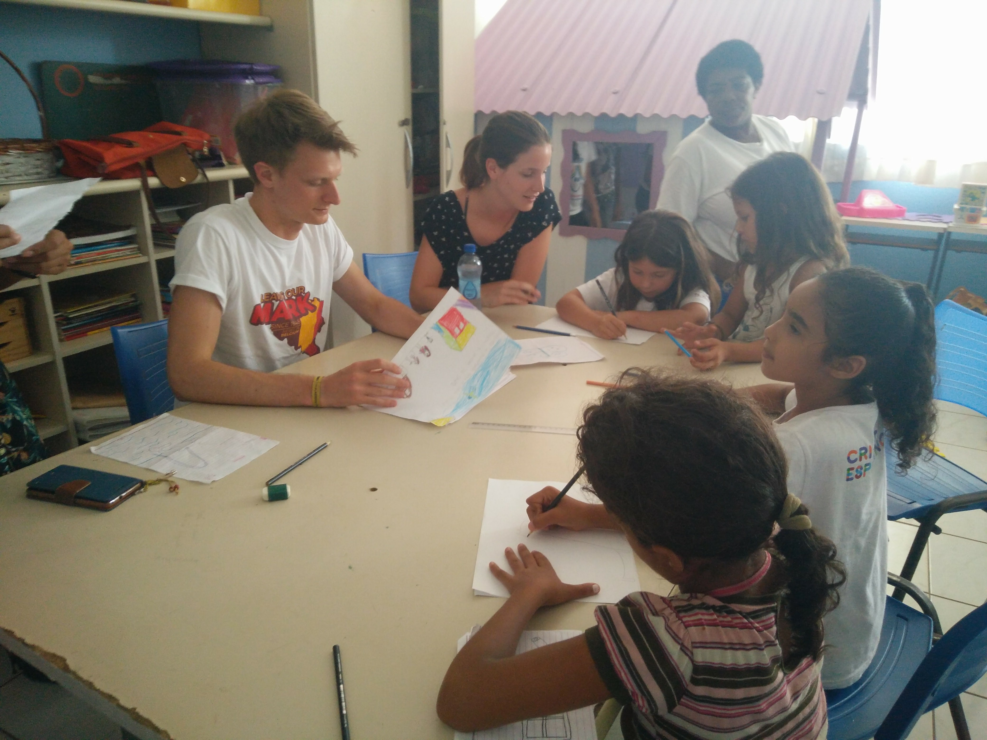 Teaching in Brazil as a volunteer